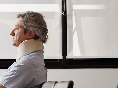 man waiting to meet with personal injury attorney