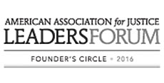 American Association for Justice Leaders Forum Founders Circle 2016